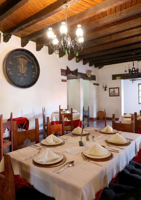 Hosteria san Felipe Restaurante mesa