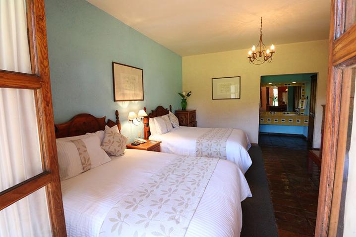 Hosteria san Felipe habitacion doble