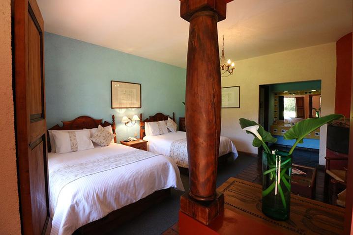 Hosteria san Felipe habitacion doble camas