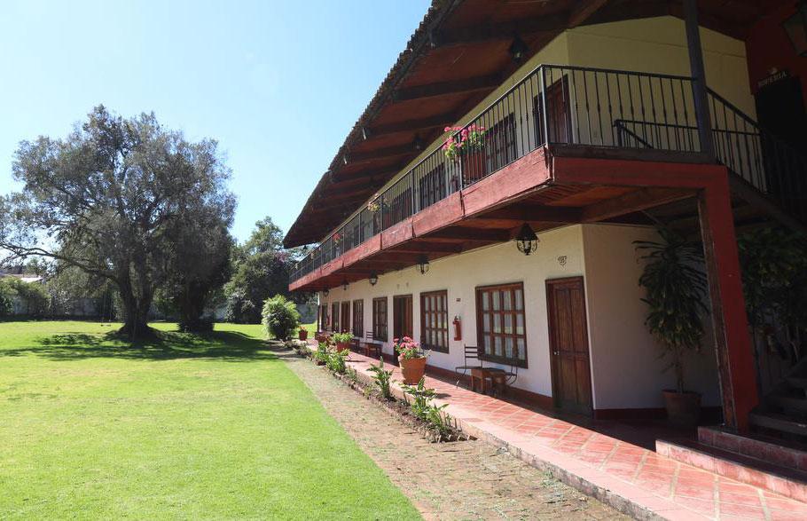 Hosteria san Felipe habitacion doble exteriores