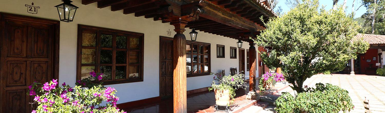 Hosteria san Felipe pasillos