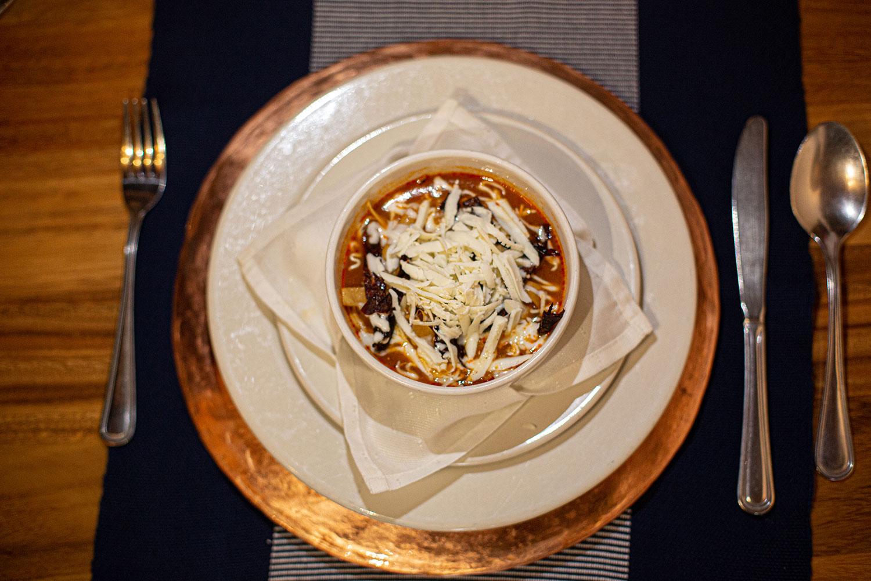 Hosteria San Felipe platillos sopa tarasca
