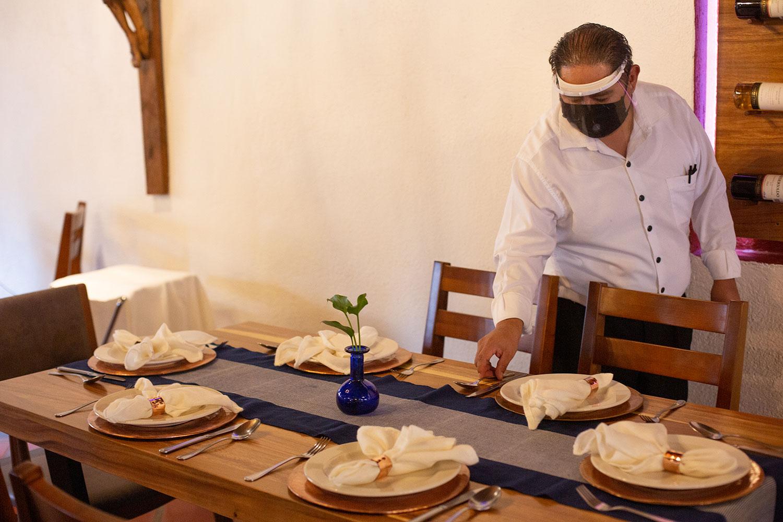 Hosteria San Felipe restaurante medidas sanitarias