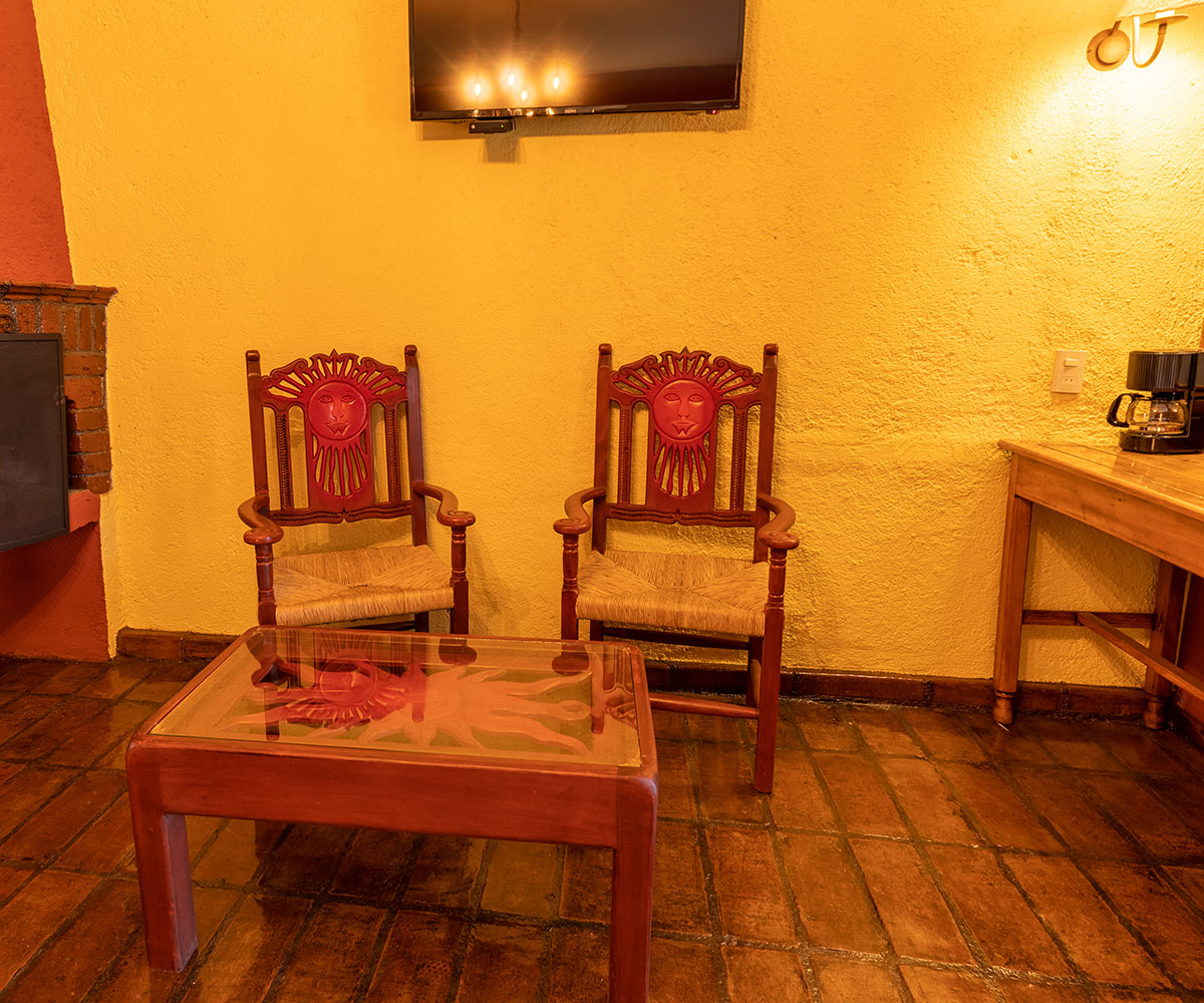Hosteria San Felipe Hab doble amenidades