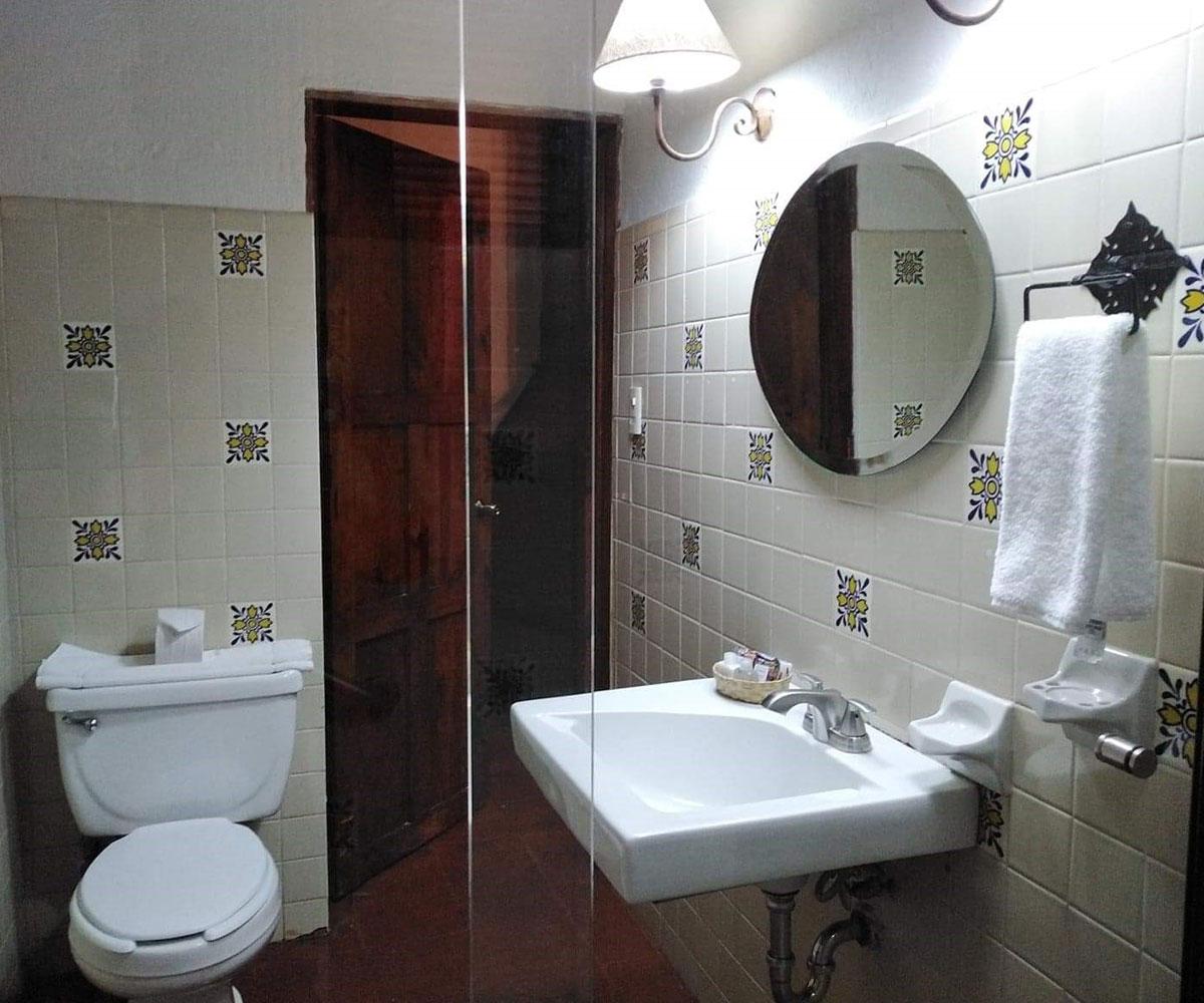 Hosteria San Felipe Hab doble baño 4