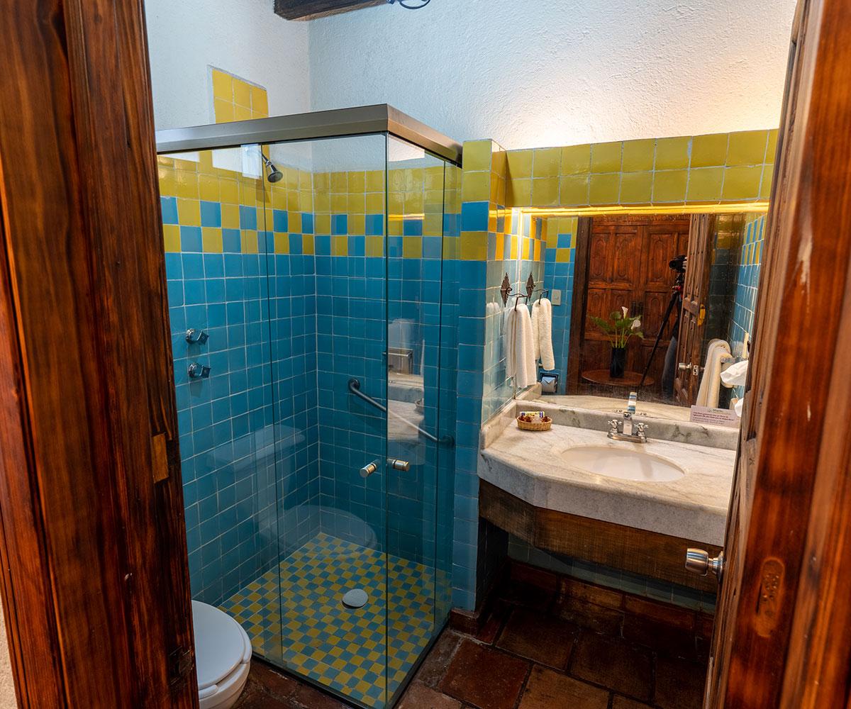 Hosteria San Felipe Hab master sencilla baño
