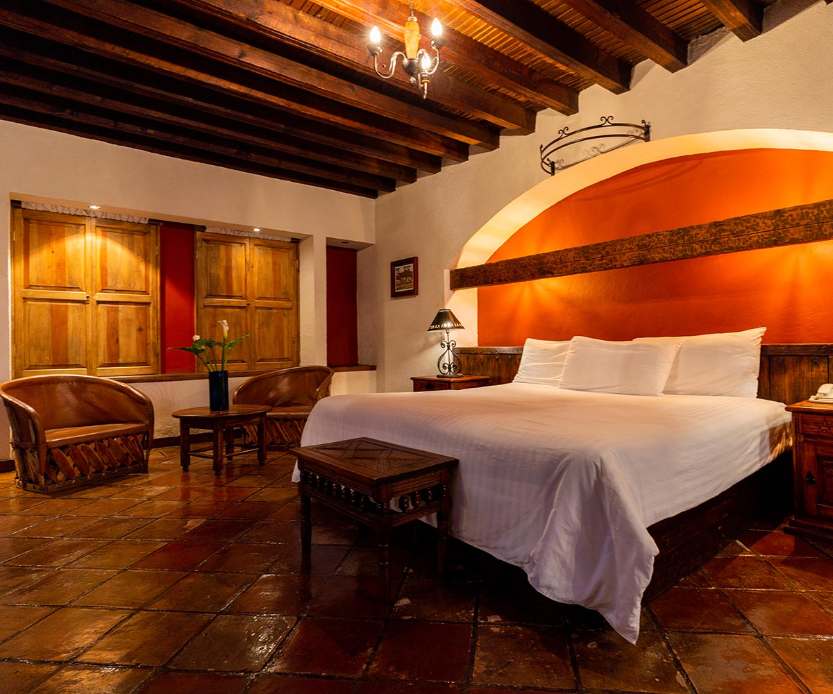 Hosteria San Felipe Hab master sencilla cama