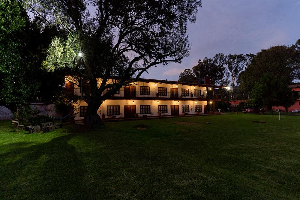Hosteria San Felipe Vista Nocturna