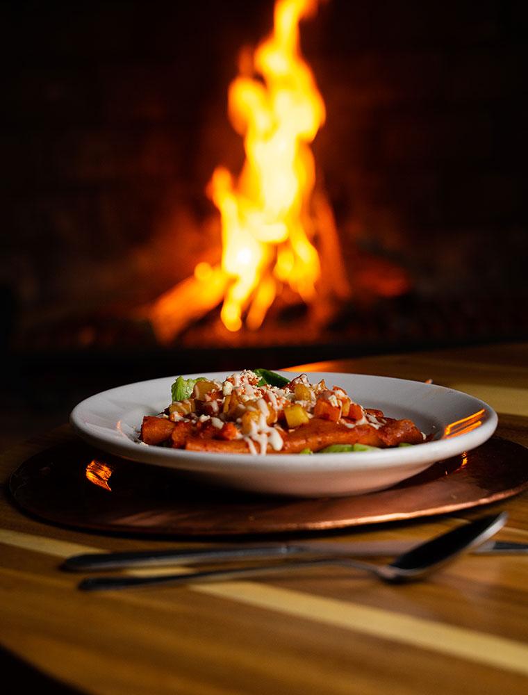 Hosteria San Felipe comida tradicional