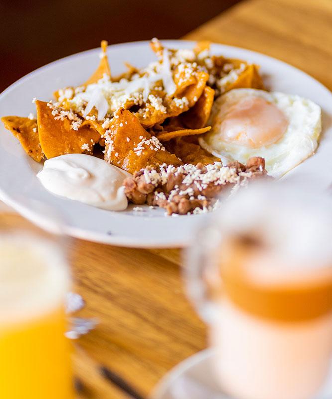 Hosteria San Felipe desayunos deliciosos